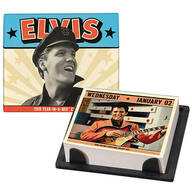 Elvis Year-In-A-Box® Desk Calendar