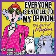 Maxine Mini Wall Calendar