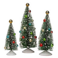 Nostalgic Christmas Trees, Set of 3 by Holiday Peak™