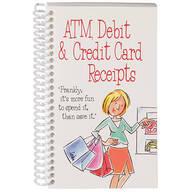 ATM, Debit & Credit Card Receipt Organizer