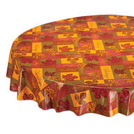 Falling Leaves Blessings Table Cover