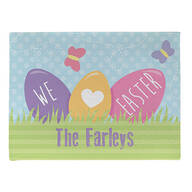 Personalized Easter Doormat