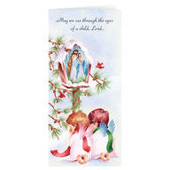 Personalized Praying Angels Christmas Cards, Set of 20