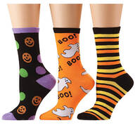 Halloween Socks, Set of 3