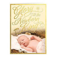 Personalized God's Love Christmas Cards, Set of 20