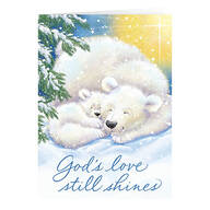 Personalized Light of Christ Christmas Cards, Set of 20