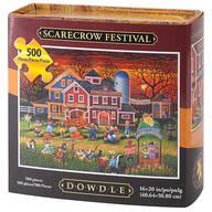 Scarecrow Festival Puzzle, 500 Pieces