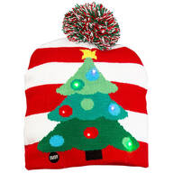 Lighted Christmas Tree Hat