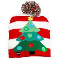 Lighted Christmas Tree Hat