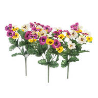 Pansy Bushes, Set of 3 by OakRidge™