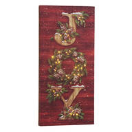 Christmas Joy Lighted Canvas by Northwoods Illuminations™