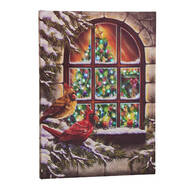 Treasured Friends Lighted Canvas by Holiday Peak™
