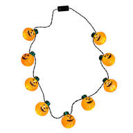 Giant Pumpkins Lighted Necklace