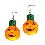 Giant Pumpkin Lighted Earrings