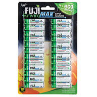 Fuji Super Alkaline AA Batteries, 24-Pack