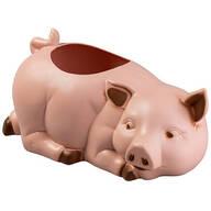 Plastic Pig Planter