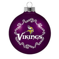 NFL Glass Ball Ornament
