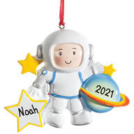 Personalized Astronaut Ornament