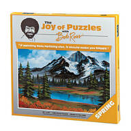 "The Joy of Puzzles with Bob Ross®, ""Spring"", 500 Pieces"