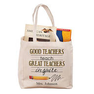 Personalized Teach and Inspire Tote