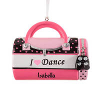 "Personalized ""I Love Dance"" Ornament"