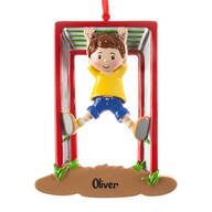 Personalized Monkey Bars Ornament