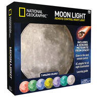 National Geographic™ Moon Light Remote Control Night Light