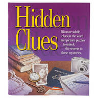 Hidden Clues Puzzle Book