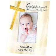Personalized Baptism Photo Frame