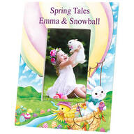 Personalized Spring Tales Photo Frame
