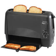 West Bend Quik Serve Toaster, Black