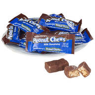 Goldenberg's® Milk Chocolatey Peanut Chews, Mini Bars