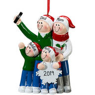 Personalized Selfie Family Ornament