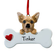 Personalized Chihuahua Ornament