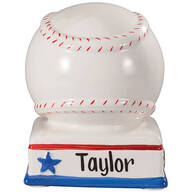 Personalized Baseball Bank