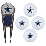 NFL Logo 4-Ball Gift Set with Divot Tool & Marker