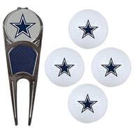 NFL Logo 4-Ball Gift Set with Divot Tool & Marker