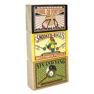 Professor Puzzle 3-Pack Matchbook Puzzles