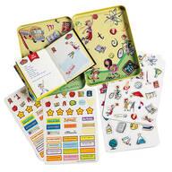 School Memories Scrapbook & Magnetic Keepsake Tin