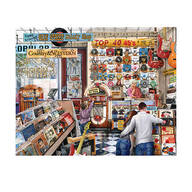 """The Melody Shop"" by Edward Wargo 1,000-pc. Puzzle"