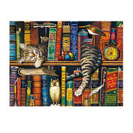"""Frederick the Literate™"" by Charles Wysocki 750-pc. Puzzle"