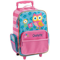 Personalized Stephen Joseph® Owl Classic Rolling Luggage