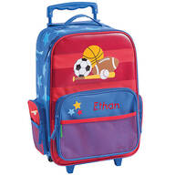 Personalized Stephen Joseph® Sports Classic Rolling Luggage