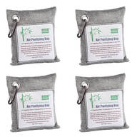 Bamboo Charcoal Air Purifying Bag 4-Pack
