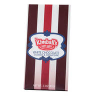 Mrs. Kimball's Candy Shoppe™ White Chocolate Cookies & Cream Bar