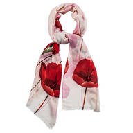 Tulip Print Fashion Scarf