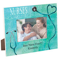 Personalized Nursing Word Art Decorative Photo Frame