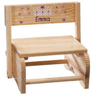 Personalized Children's Princess Chair/Step Stool