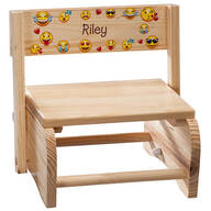 Personalized Children's Emoji Chair/Step Stool