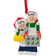 Personalized Family Cookie Baking Ornament